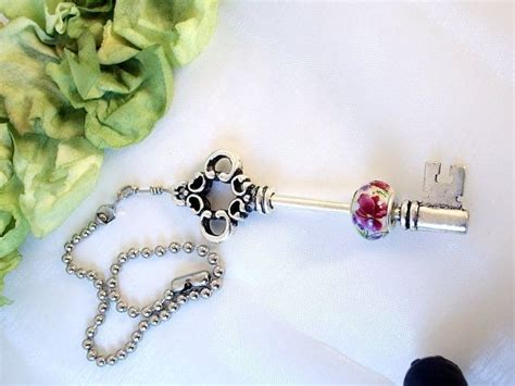 shabby chic light pull victorian skeleton key ceiling fan pull shabby chic 15 50 http www etsy com shop