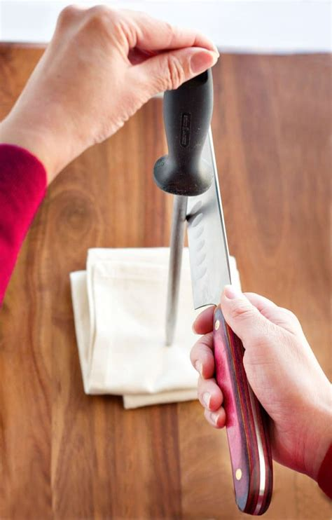 sharpening angle for kitchen knives how to sharpen your knives steamy kitchen recipes