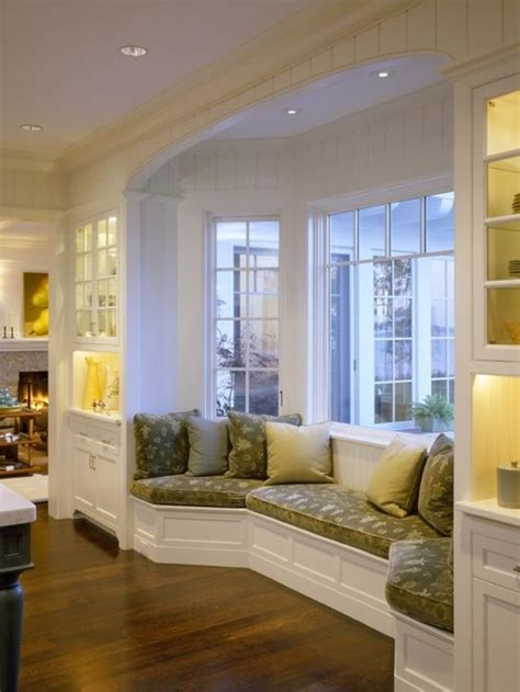 Bay Window Seat Home Design Ideas, Pictures, Remodel And Decor