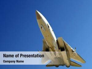 Fighter Jet Powerpoint Templates