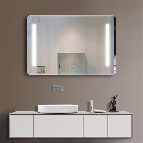 wall mounted lighted makeup mirror buy the best lighted makeup mirror wall mounted the homy