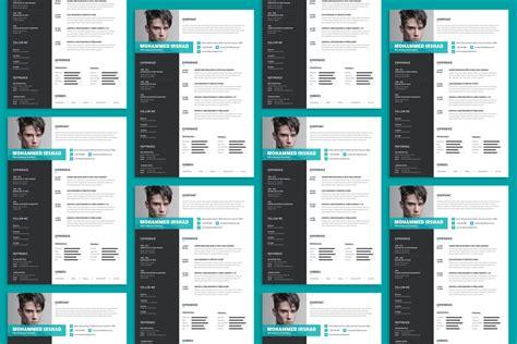free modern resume cv design template psd file resume