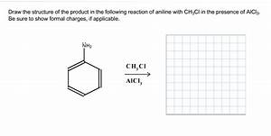 Draw The Structure Of The Product In The Following