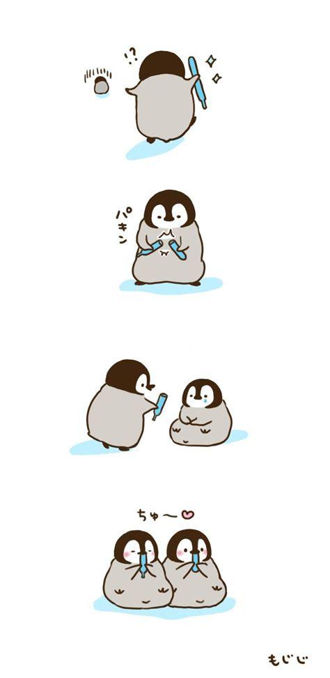 baby penguins ideas  pinterest cute penguins