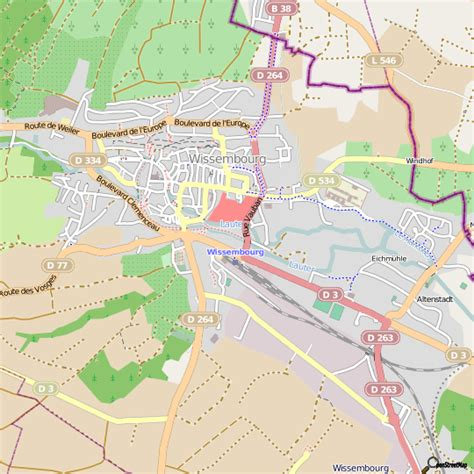 leclerc cuisine plan wissembourg carte ville wissembourg
