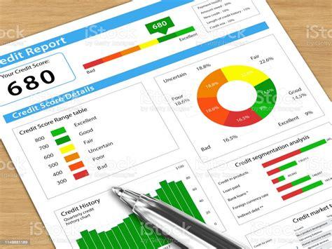 Credit Score Report Stock Photo - Download Image Now - iStock
