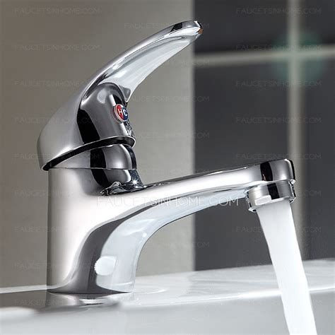 small bathroom sink  faucet refined brass