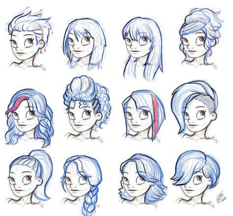 reference hairstyle female  gian  deviantart