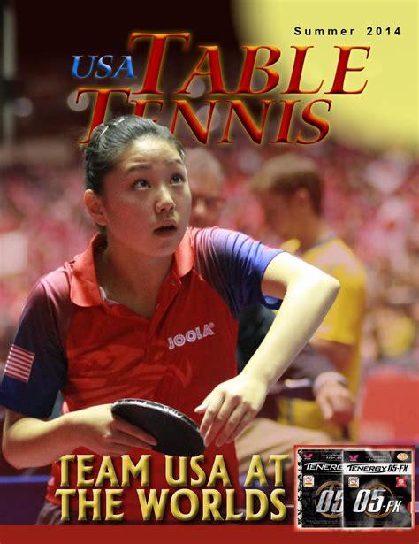 usa table tennis ratings usatt magazine summer 2014 by tabletennisnow issuu