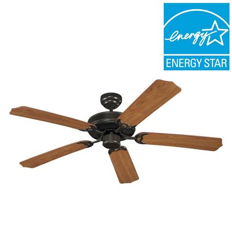 best energy star ceiling fans sea gull lighting quality max plus 52 in antique brushed