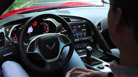 chevrolet corvette stingray interior  depth car