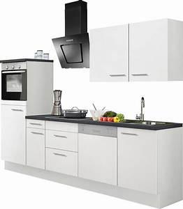 Küchenzeile 3m Ohne Geräte : k chenzeile ohne e ger te optifit mats breite 270 cm online kaufen otto ~ Indierocktalk.com Haus und Dekorationen