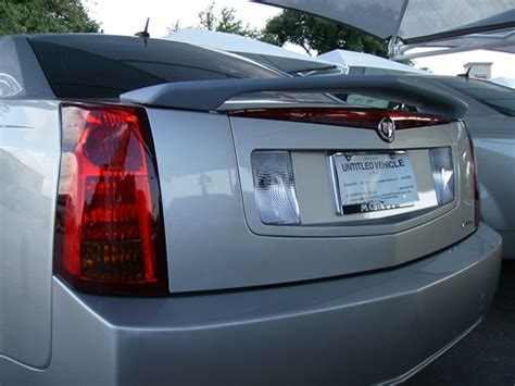cadillac cts painted spoiler  post