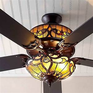 10, Benefits, Of, Stained, Glass, Ceiling, Fans