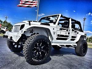 Jeep Wrangler Custom : 2017 jeep wrangler unlimited white out custom lifted leather hardtop florida bayshore automotive ~ Maxctalentgroup.com Avis de Voitures