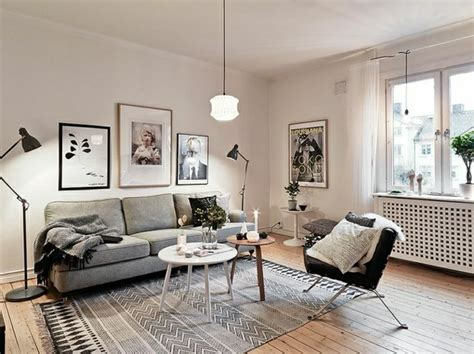 Grey And White Interior Design Inspiration From Scandinavia : Comment Créer Une Ambiance Scandinave?45 Idées En Photos