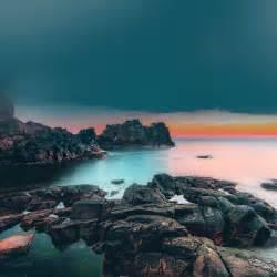 Coastal iPhone Wallpaper