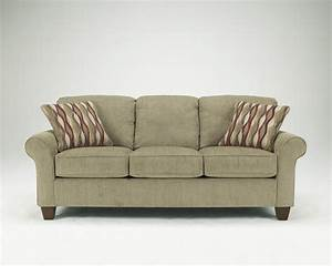 Ashley furniture signature design newton pebble sofa for Newton contemporary sectional sofa