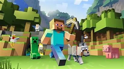 Minecraft Games Desktop Wallpapers Backgrounds Pixels Mobile
