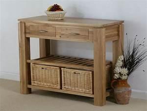 Galway solid oak funiture range oak console table oak for Kitchen furniture galway