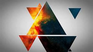 Abstract, Triangles, Design, Wallpapers