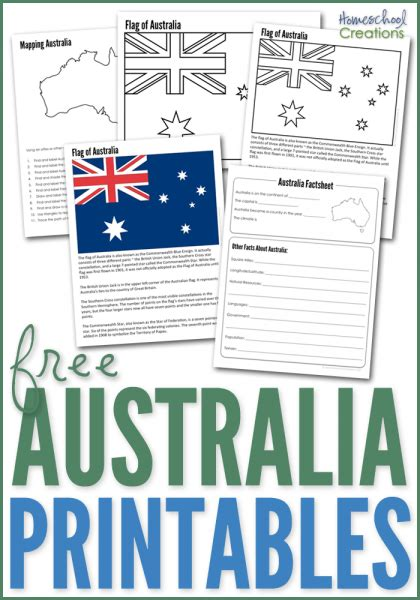 australia archives homeschool creations