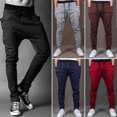 Spring Brand New Fashion Sweatpants Trousers Men