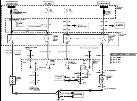 91 Lumina Wiring Diagram by 92 Chevy Lumina 3 1 Fans Do Not Come On Running