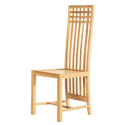 chaise en chaise en teck kwad vente de chaise coloris clair chez