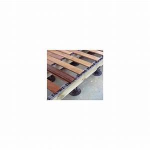 Plot Reglable Terrasse : plot r glable terrasse bois b50 de 55 75mm bugal ~ Edinachiropracticcenter.com Idées de Décoration