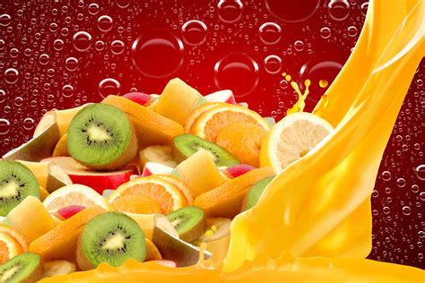wallpaper kiwifruits oranges fruits  lifestyle