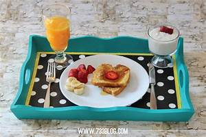 Custom Serving Tray for Mother's Day Breakfast ...