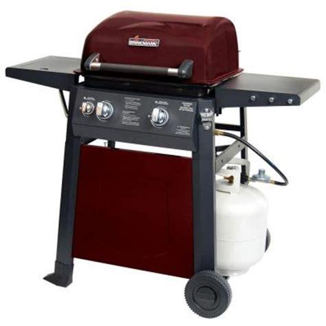 brinkmann 2 burner propane gas grill 810 4220 s the home