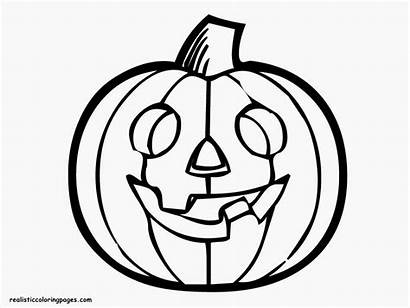 Pumpkin Halloween Coloring Pages Drawing Outline Pumpkins