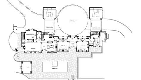Luxury Modern Mansion Floor Plans Plan First Story