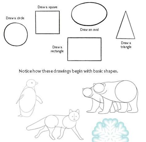 gallery drawing basic shapes drawings art gallery