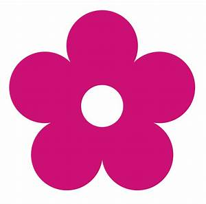 Hot Pink Flower Clipart   Clipart Panda - Free Clipart Images
