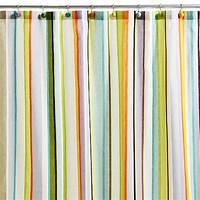 striped shower curtains Striped Shower Curtain   Casual Cottage