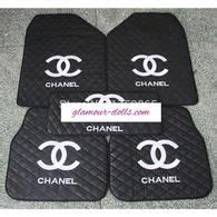 siege chanel chanel 18pc pink black car seat cover set voitures