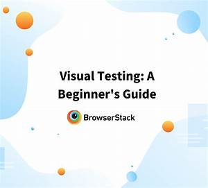Manual Testing For Beginners