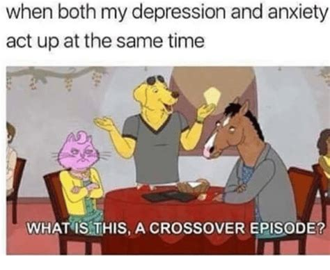 What Is This Meme - when both my depression and anxiety act up at the same