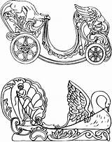 Coloring Pages Carousel Chariot Carosel Quirky Loft Artist Colouring Horses Dragon Horse Sheets Books Template Adult Carriage Chariots Quirkyartistloft Patterns sketch template