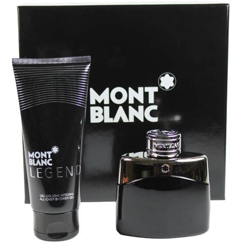 legend by mont blanc for set eau de toilette spray 1 7 palm perfumes