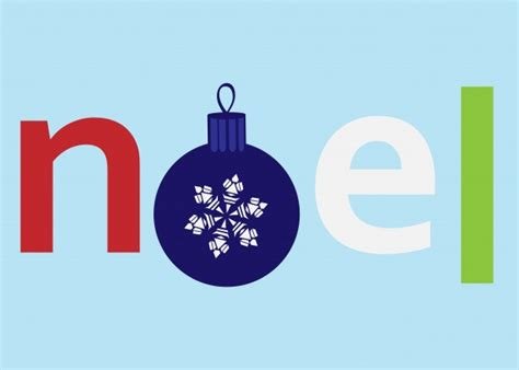 Noel Text Clipart Free Stock Photo - Public Domain Pictures