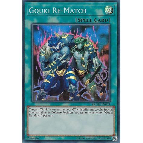 yu gi oh trading card game cotd gouki en054 match rare super singles
