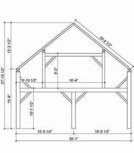 Timber Framing Diagram From Heritage Barns  We Are Doing