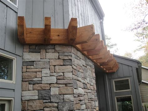 fieldstone siding decorating stone veneer panels genstone