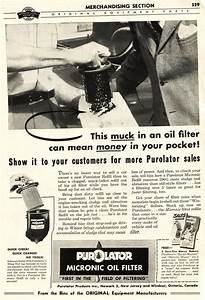 Purolator: First Company to offer Canister Oil Filters as ...
