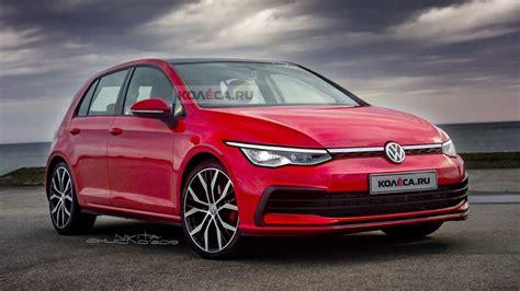2020 volkswagen golf gtd 2020 vw golf realistically rendered ahead of october reveal