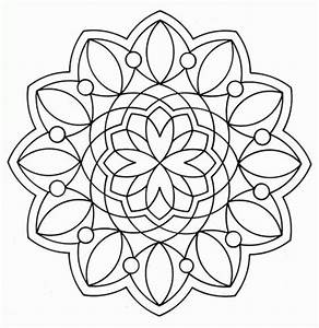 Printable Geometric Coloring Pages - Coloring Home